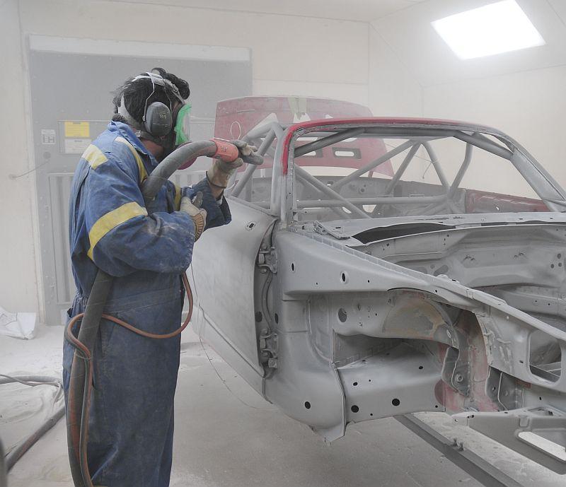 Soda Blasting Sandblasting Media Blasting Mississauga Toronto Gta Auto Restoration Car Paint